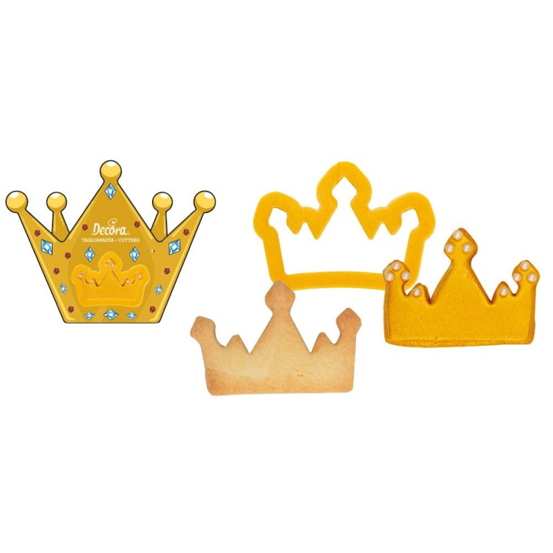 "Emporte-pièce ""Couronne"", emporte-pièce roi, emporte-pièce reine, emporte-pièce princesse, emporte-pièce thème chevalier"
