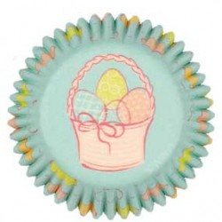 Mini Baking Cups Easter Garden pk/100