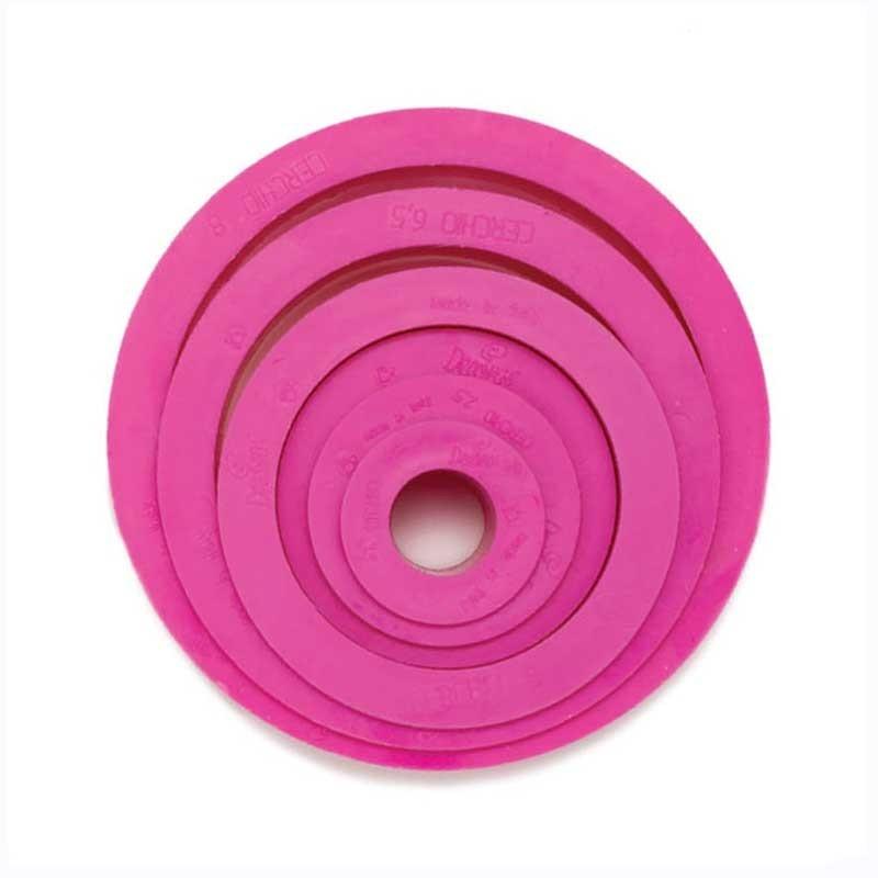 Emportes-pièces ronds, emporte-pièces plasitique ronds, set emporte-pièces ronds