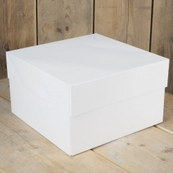 Boîte à gâteau, boîte de transport à gâteau, boîte en carton, boîte blanche carton, boîte blanche pour gâteau