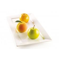 Moule en silicone fruits, moule fruits, moule sphère, moule silicone sphère, moule pour faire des pâtisserrie forme de fruits, m