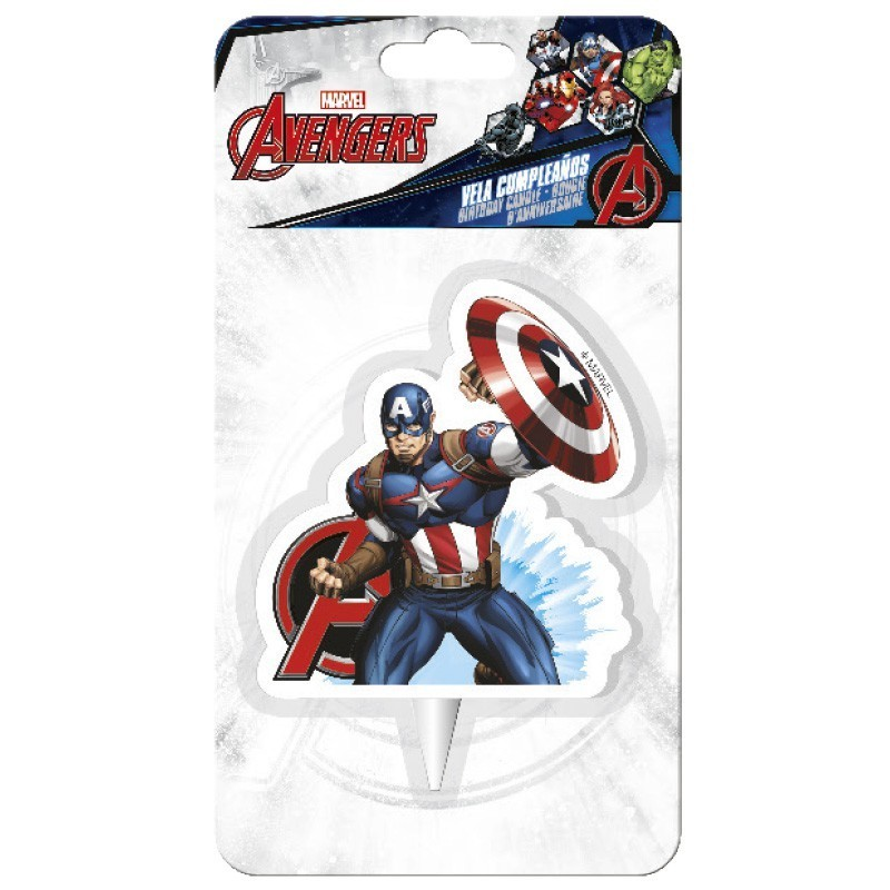 Captain America Avengers Candle Chf5 50