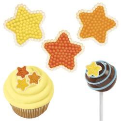 Icing Decorations Mini Star