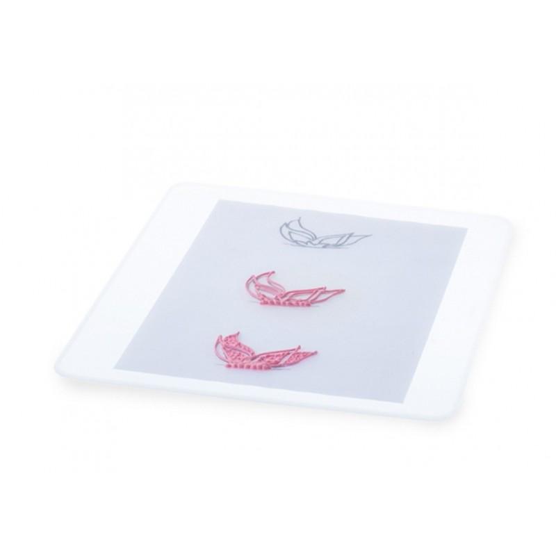 Tapis en silicone transparent, tapis de cuisson, tapis pour four