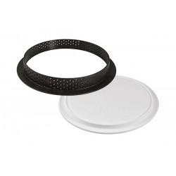 Cercle perforé + moule, cercle et insert, cercle perforé et insert, kit cercle perforé et insert