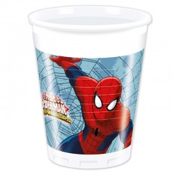 Anniversary spiderman cups