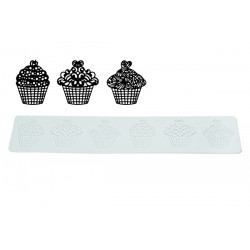 "Tricot Decor ""Cupcakes"" - SOLDES"