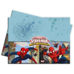 Spiderman birthday tablecloth