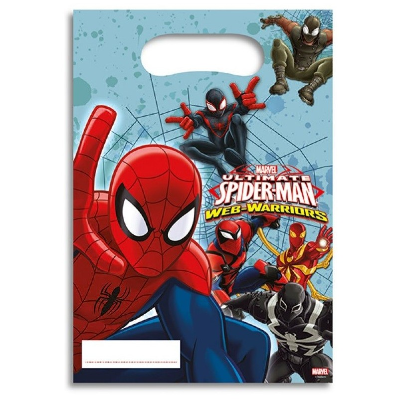 Party bag Spiderman