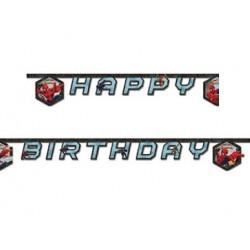 Spiderman Girlande Happy Birthday