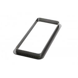 Rectangle perforé + moule, cadre et moule, cadre et insert, cadre rectangle et moule, cadre rectangle et insert, cadre pour tart