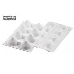 """Moule en silicone """"Goutte55"""", moule silicone, moule entremet, moule en forme de goutes, goutes d'eau, set de moules silicone, se"""