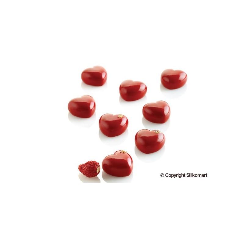 "Moule en silicone ""Micro Loves5"", moule silicone mini coeurs, moule minis coeurs, kit moule coeurs, kit moules silicone coeurs,e"