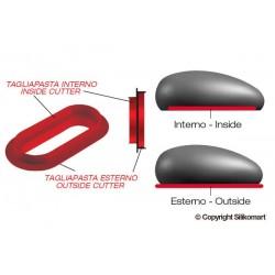 """Moule en silicone """"Mr Pillow"""", moule silicone forme ovale, moule ovale, entremet forme ovale, pâtisserie forme ovale, moule et i"""