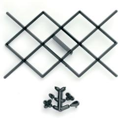 Losange Design - 10.5 x 7 cm