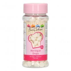 Mini meringues blanches, mini meringues, décos meringues, meringues blanche pour décos, décoration entremet, décorations vacheri
