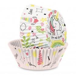 Caissettes Licorne, cupcake licorne, décoration gâteau licorne, anniversaire licorne , caissette licorne, muffins licorne