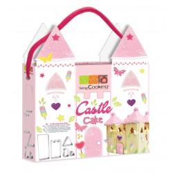 """Emporte-pièce """"Château"""", gâteau princesse, anniversaire princesse, anniversaire chevalier, château de chevalier, gâteau chevalie"""