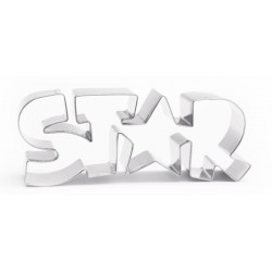 "Emporte-pièce ""Star"", star, biscuit Star, gâteau Star,"