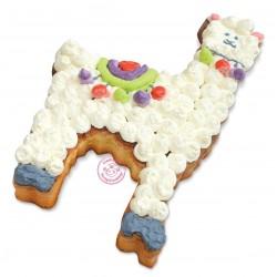 """Cadre XXL """"Lama"""", gâteau lama, lama, gâteau original, anniversaire lama"""