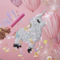"Piñata ""Mini licorne"", pinita lama, lama, anniversaire lama, thème lama,"