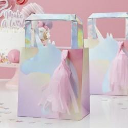 """Sacs d'anniversaire """"Licorne"""", anniversaire licorne, cadeaux licorne, licorne, sachet de fête licorne, sachet d'anniversaire lic"""