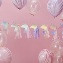 "Guirlande ""Licorne"", décorations licorne, anniversaire licorne, licorne, fête licores, anniversaire enchanté"
