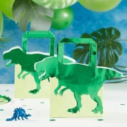 """Sacs d'anniversaire """"dinosaure"""", anniversaire dinosaure, cadeaux dinos, dinos, sachet de fête dinosaure, sachet d'anniversaire d"""