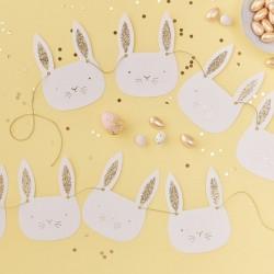"Guirlande ""Lapins"", décorations lapin, anniversaire lapins, pâques, fête lapinou, anniversaire enchanté"