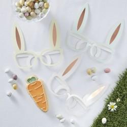"""Lunettes """"Lapins"""", décorations lapin, anniversaire lapins, pâques, fête lapinou, anniversaire enchanté"""