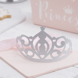 """diadème """"Princesse"""", couronne princesse, couronne scintillante princesse, anniversaire princesses, décos princesses, princesses"""