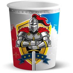 Gobelets Chevaliers, verre chevalier, anniversaire chevalier, couverts chevalier, chevalier, gobelet, décos anniversaire chevali