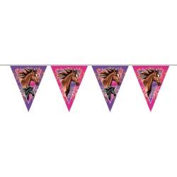 Guirlande cheval, anniversaire chevaux, anniversaire spirit, guirlande anniversaire, guiralande annimaux, guirlande rose spirit