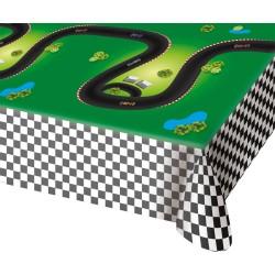 Nappe Formule 1, nappe circuit, anniversaire formule 1, nappe plastique course de voitures, formule 1,  circuit de voiture, couv