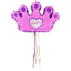 "Piñata ""Couronne Princesse"", couronne princesse, pinata, princesse, anniversaire princesse, pinata roses"