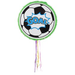 "Piñata ""Football"", foot, pinata, anniversaire foot, pinata ronde, oinata ballon de foot,"