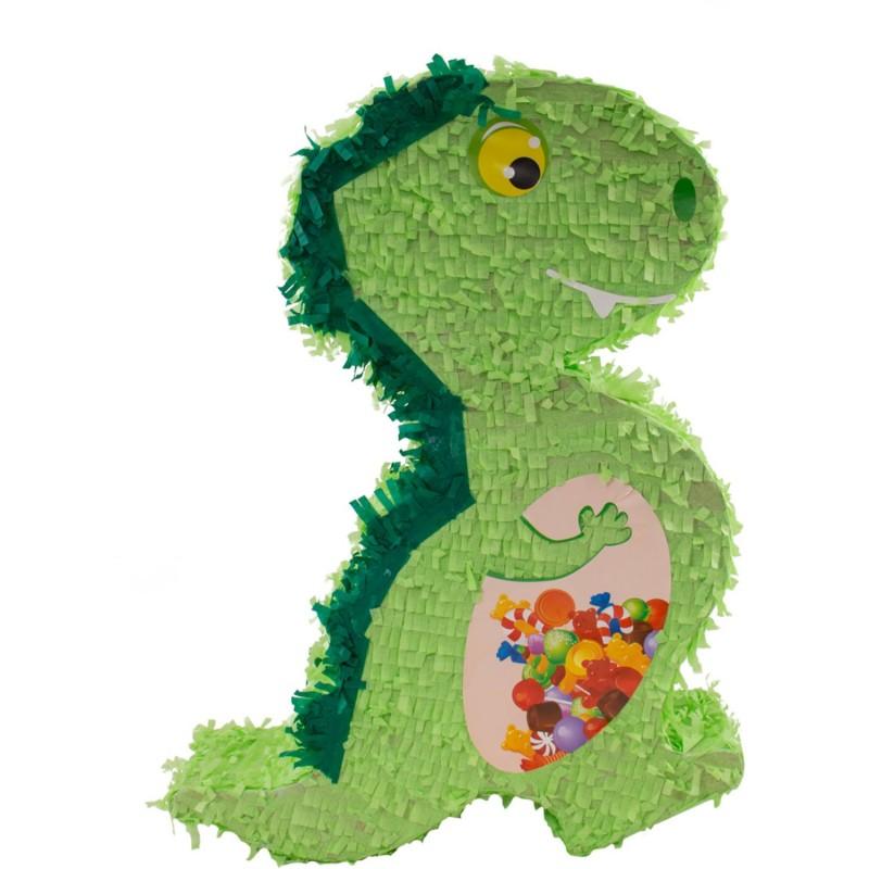 "Piñata ""Dino"", pinata donosaure, pinata verte, dino, anniversaire dino, anniversaire dinosaure, décoration anniversaire dino"