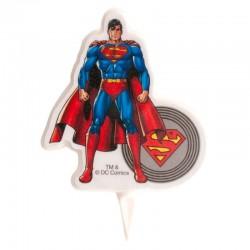 Kerze Superman 2D