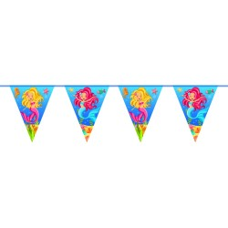 Guirlande sirènes, décos anniversaire sirène, décos sirène, guirlande , guirlande anniversaire, sirène