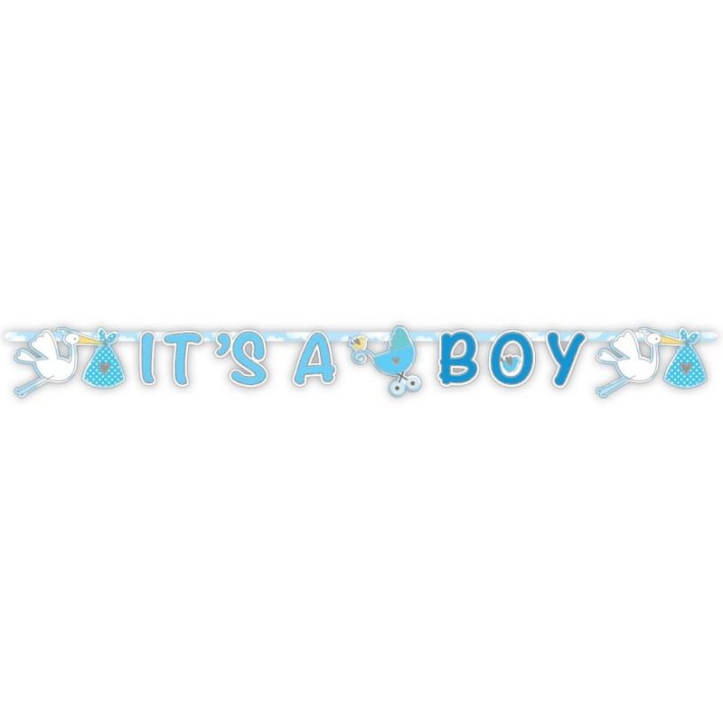 "Guirlande ""It's a boy"", guirlande, baby shower, guiralnde garçons, bay shower garçon,"