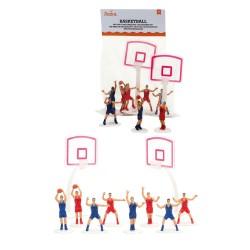 """Décorations """"Basketball"""" gâteau basket joueurs décoration panier décoration sportives kit basket"""