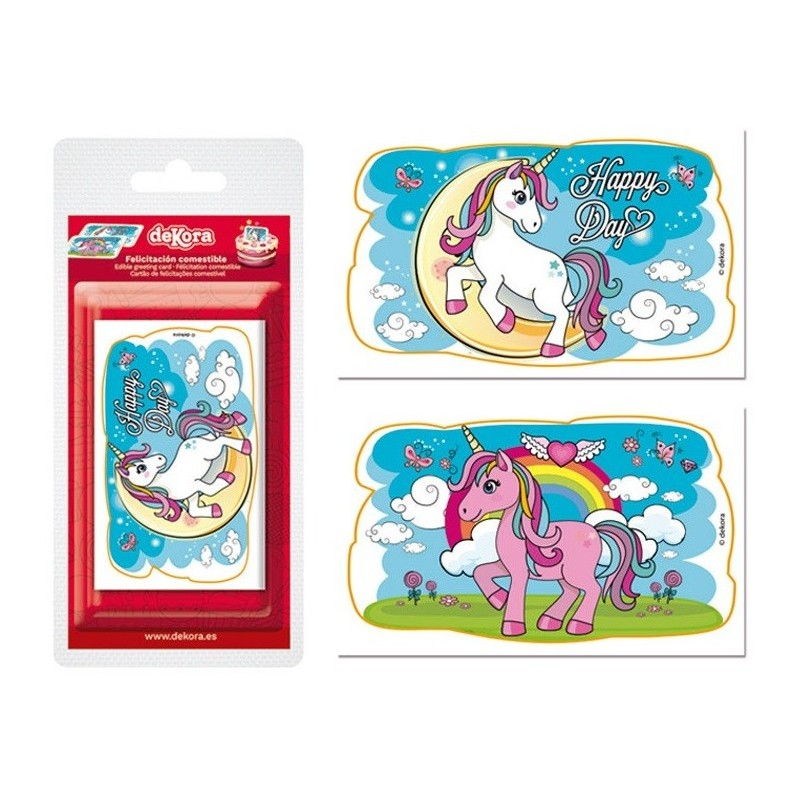 Cake toppers Licorne