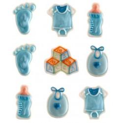 Sucres naissance bleu