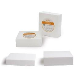 Polystyrène Carré, dummy carrés faux gâteau polystyrène pâtisserie