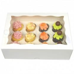 Boîte à mini cupcakes 12 cavités avec insert