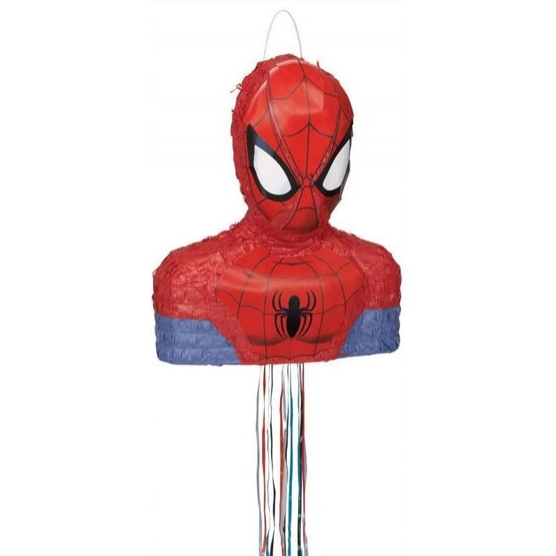 "Piñata ""Spiderman"" anniversaire pinata homme areignée suoer héros spiderman areignée"