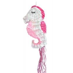 "Piñata ""Hippocampe"", pinata mer bonbons anniversaire annimations fête"