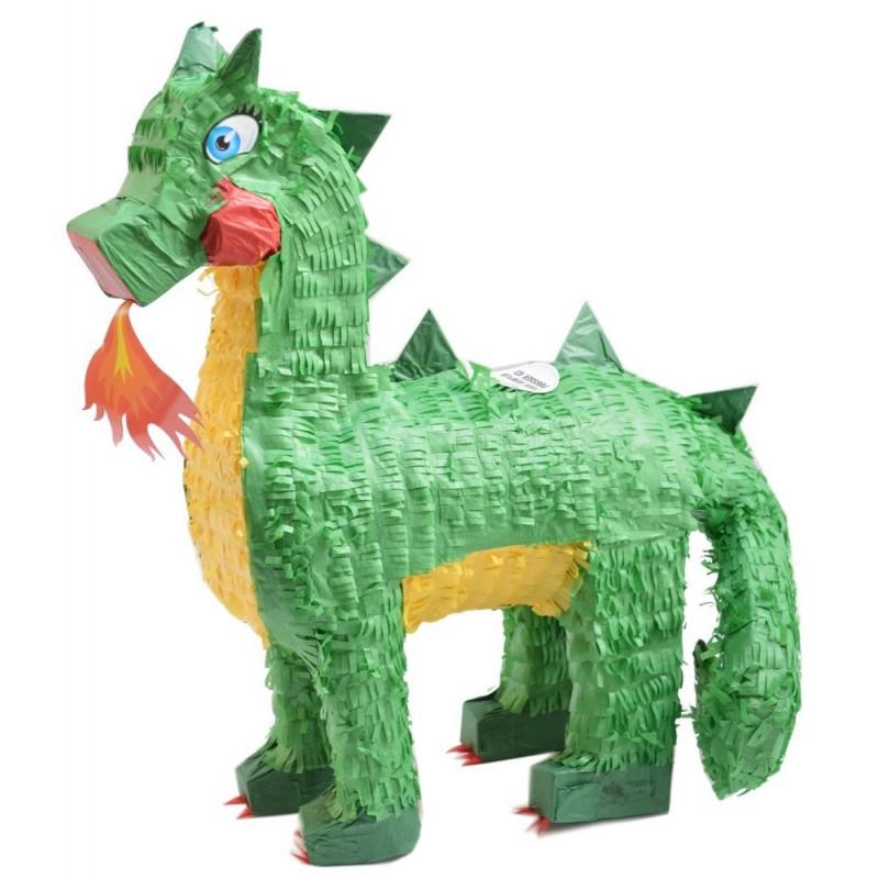 "Piñata ""Dragon"", vert garçon anniversaire fête dino dragon bonbons"