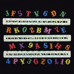 Alphabet & Numéro - Carnaval emport-pièce lettre pochoir carnaval fête anniversaire décoration