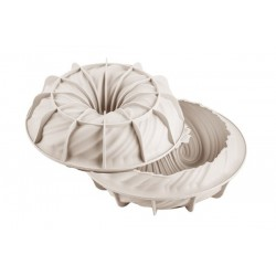 Intreccio - Moule en silicone couronne rond spirale entremet